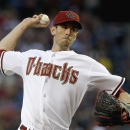 Arizona Diamondbacks' Brandon McCarthy throws a pitch against the San Francisco Giants during the first inning of an opening day baseball game, Monday, March 31, 2014, in Phoenix The Associated Press