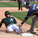 Milwaukee Brewers v Oakland Athletics Getty Images