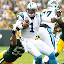 Green Bay Packers' Nick Perry (53) sacks Carolina Panthers quarterback Cam Newton during the first half of an NFL football game Sunday, Oct. 19, 2014, in Green Bay, Wis The Associated Press