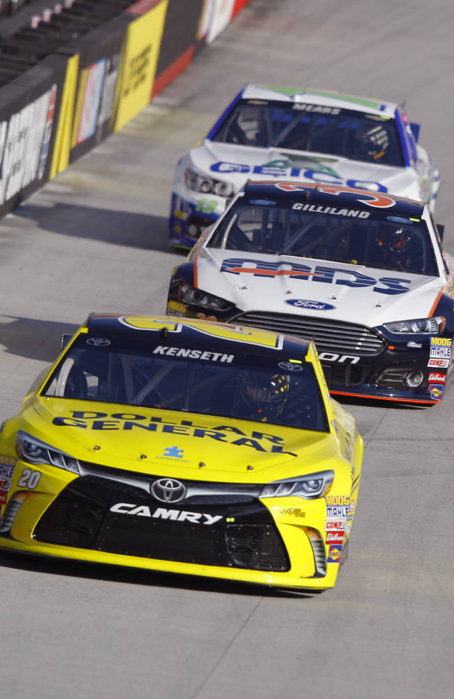 Kenseth content in car and not contemplating retirement