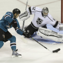 Brown nets go-ahead goal, Kings top Sharks 4-1 The Associated Press