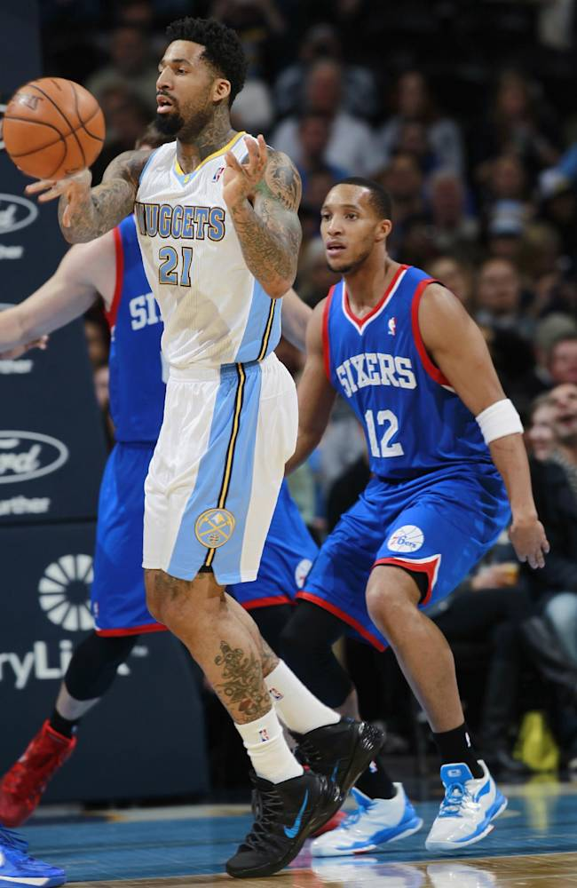 Sixers roll past Denver, 114-102