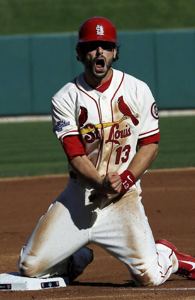 Wacha, Cardinals edge Dodgers for 2-0 lead in NLCS