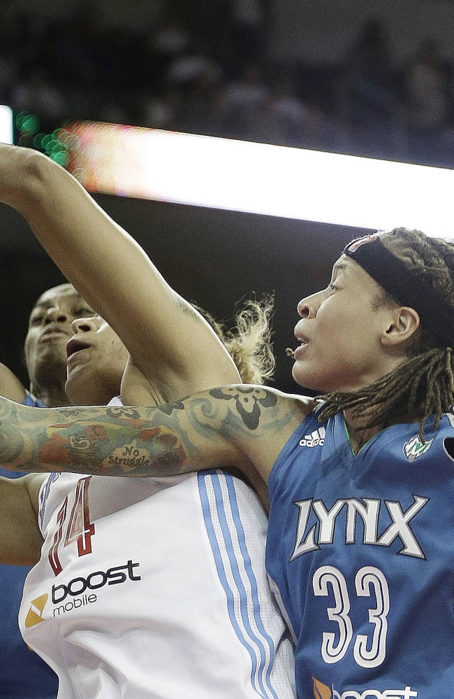 Moore, Brunson lead Lynx to title sweep