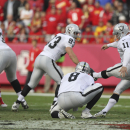 Raiders haven't needed much from Janikowski The Associated Press