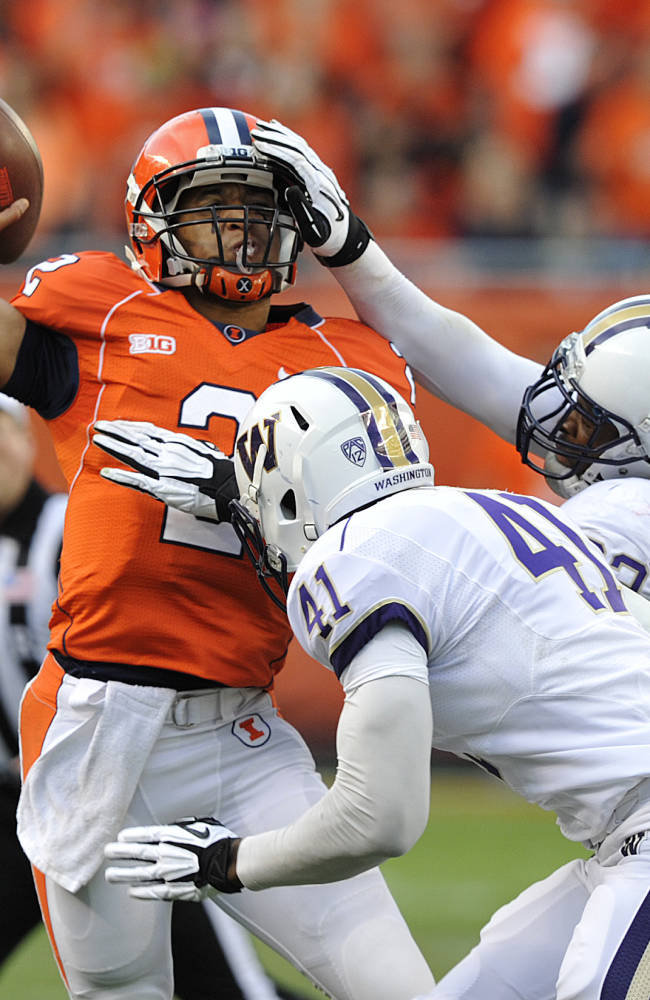 Illini rally falls short vs No. 19 Washington