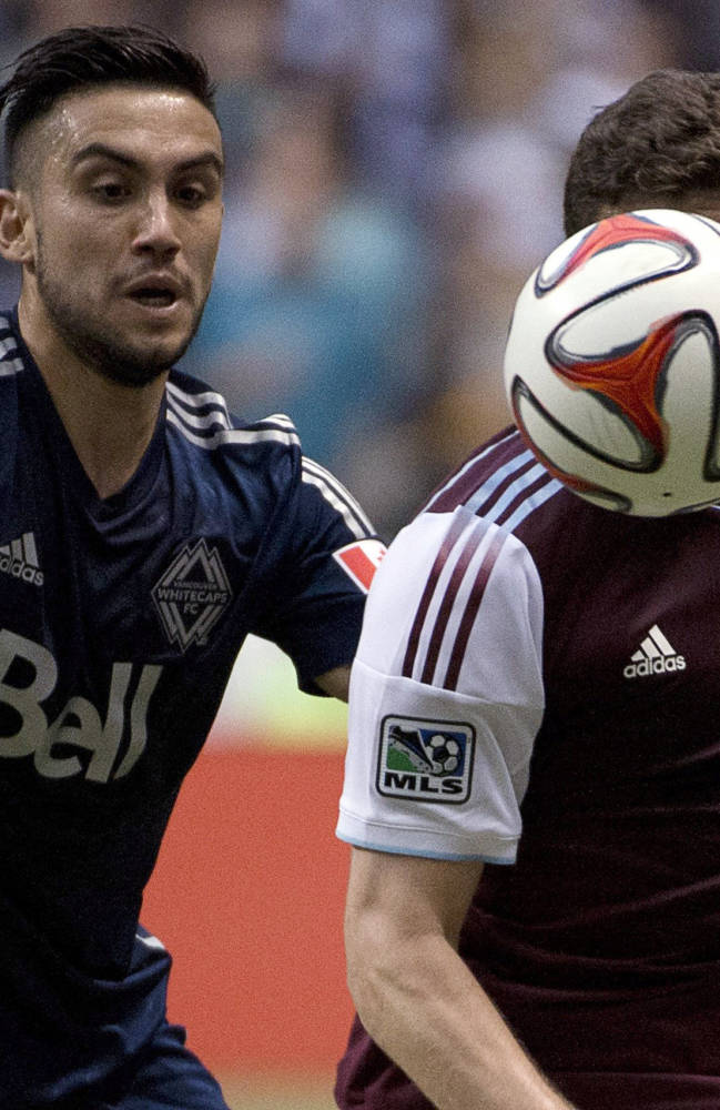 Rapids beat Whitecaps 2-1 on Jose Mari's 2 goals