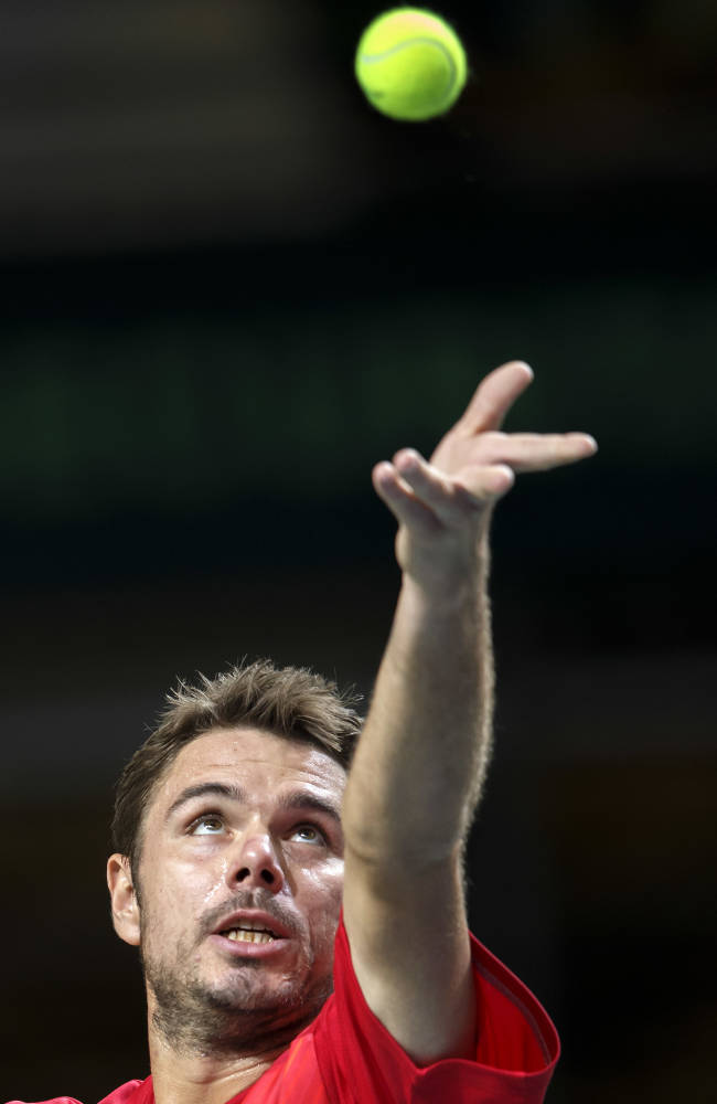 Switzerland, Kazakhstan level at 1-1 in Davis Cup