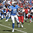 San Diego Chargers quarterback Philip Rivers looks to throw a pass against the Kansas City Chiefs during the first half of an NFL football game, Sunday, Oct. 19, 2014, in San Diego The Associated Press