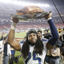 Sherman's big night leads Seattle past 49ers again The Associated Press
