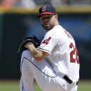 Indians avoid winless homestand, beat Royals 12-1 The Associated Press