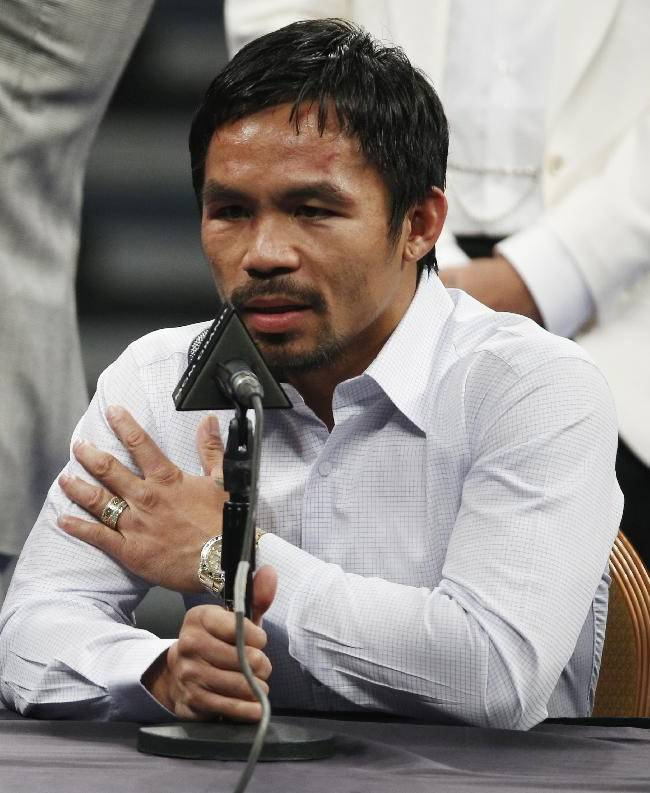 Fight of century is now battle in court as fans sue Pacquiao