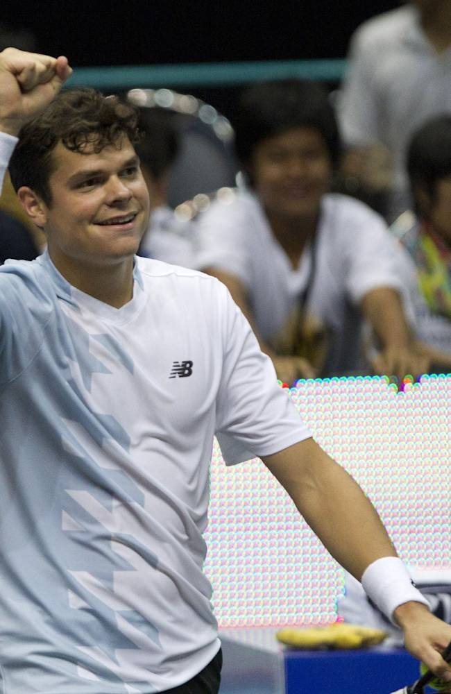 Raonic beats Berdych to win Thailand Open