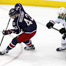 Anisimov leads Blue Jackets, 4-2 over Stars The Associated Press