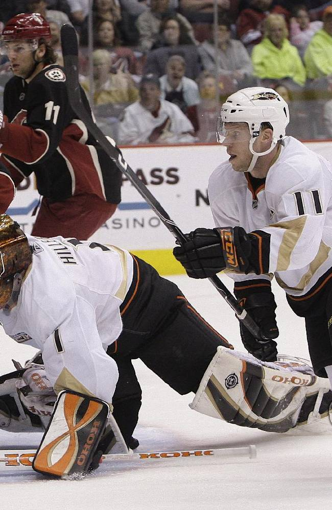 Koivu, Hiller won't return to Anaheim Ducks