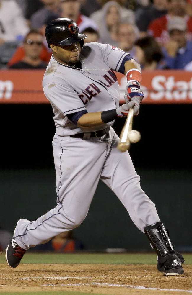 Indians lose to Angels 6-3