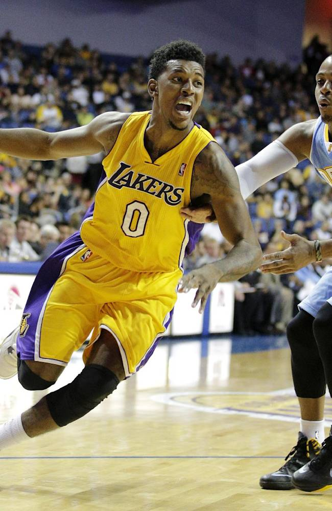Blake and Gasol lead Lakers over Nuggets