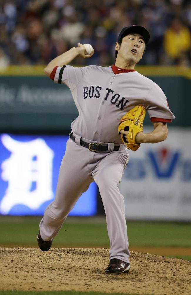 BoSox a win from pennant after beating Tigers 4-3