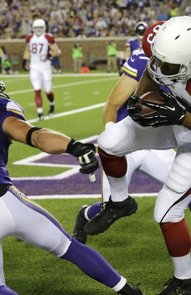 Bridgewater, Vikings rally past Cardinals 30-28