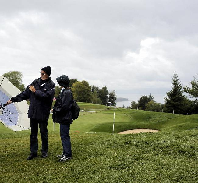 Rain postpones play on day 1 of Evian Championship