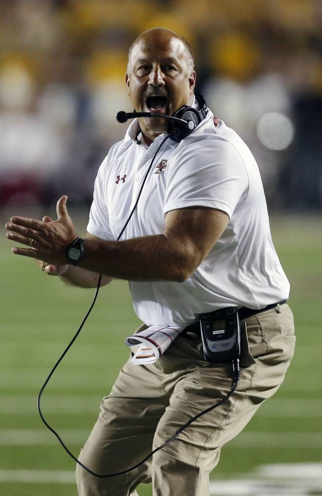 BC defense stops Wake Forest for 24-10 win in ACC