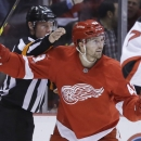 Helm's 2 goals lift Red Wings over Devils 3-1 The Associated Press