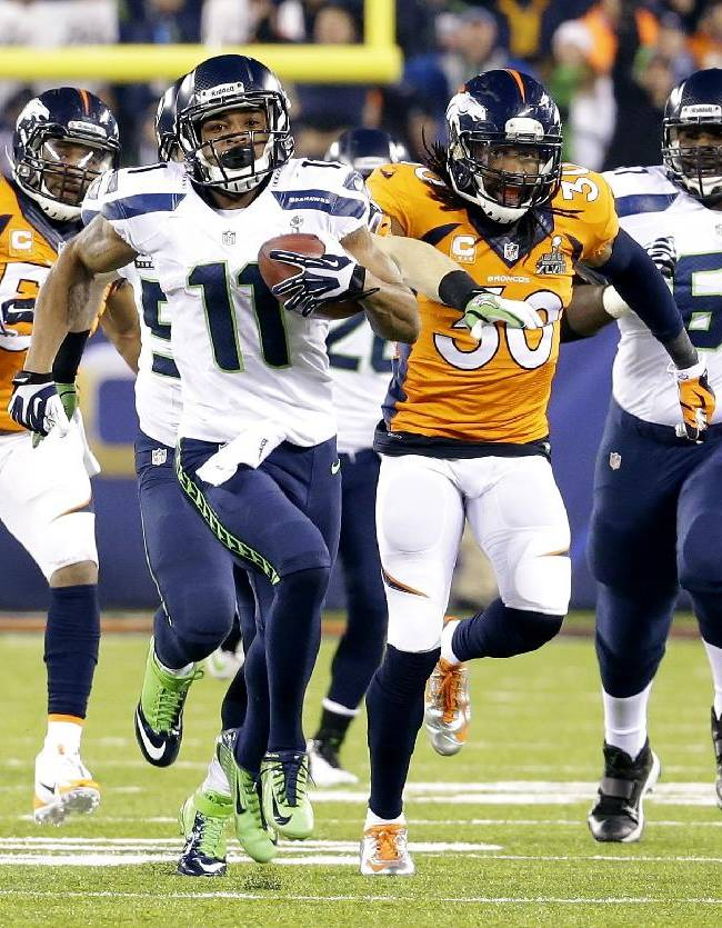 SUPER BOWL WATCH: Seattle soaring in Super Bowl