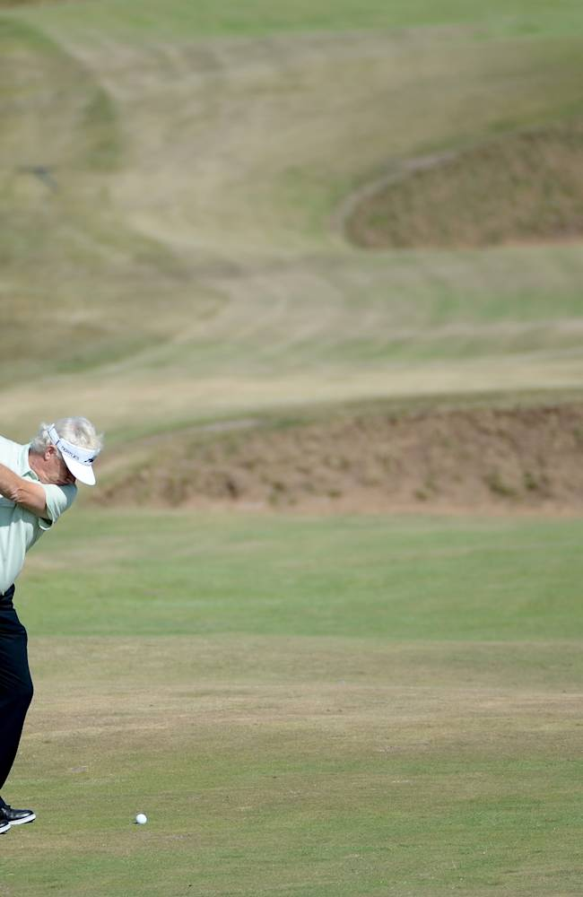 The Senior Open Championship - Day Two