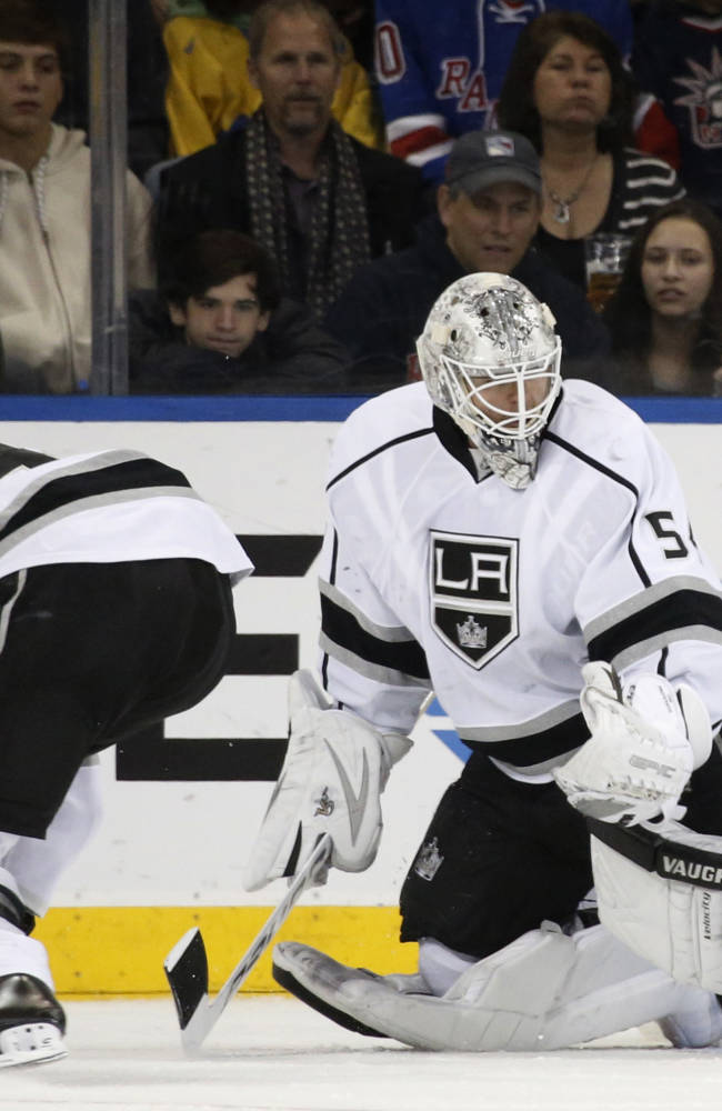 Scrivens, Toffoli lead Kings to 1-0 win over NYR