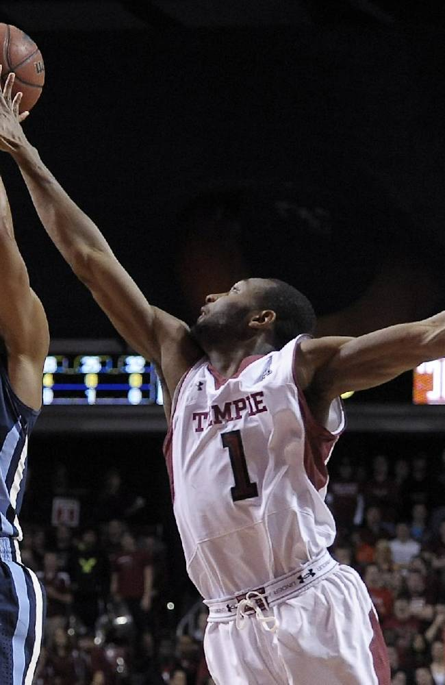 Bell leads No. 9 Villanova over Temple 90-74