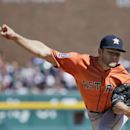 Houston Astros' Lance McCullers pitches against the Detroit Tigers during the second inning of a baseball game Saturday, May 23, 2015, in Detroit. (AP Photo/Duane Burleson)