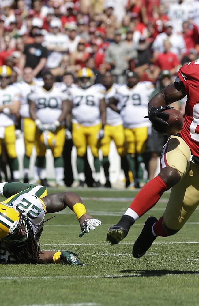 Boldin's memorable 49ers debut leads team to win