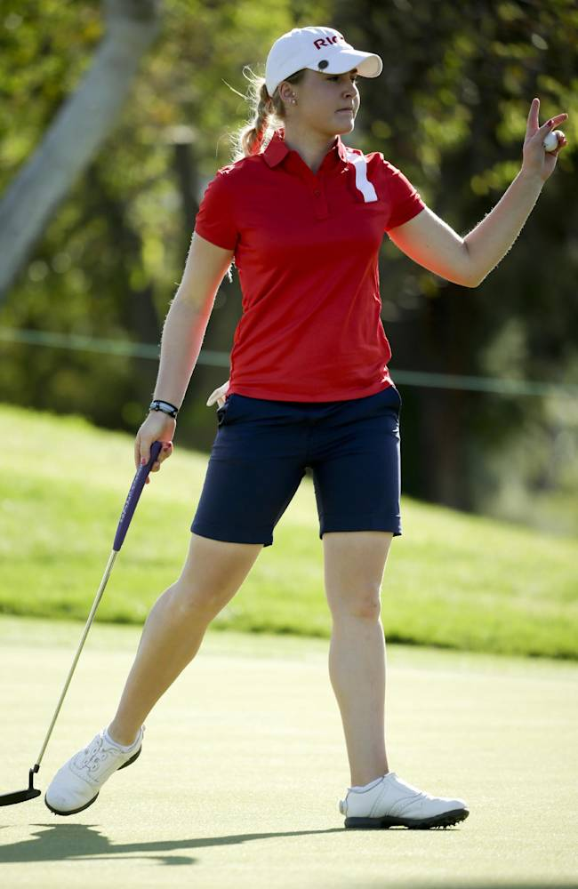 Wie, Thompson tied for Kraft Nabisco lead