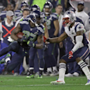 Seattle Seahawks wide receiver Ricardo Lockette (83) runs against New England Patriots cornerback Darrelle Revis (24) during the second half of NFL Super Bowl XLIX football game Sunday, Feb. 1, 2015, in Glendale, Ariz The Associated Press