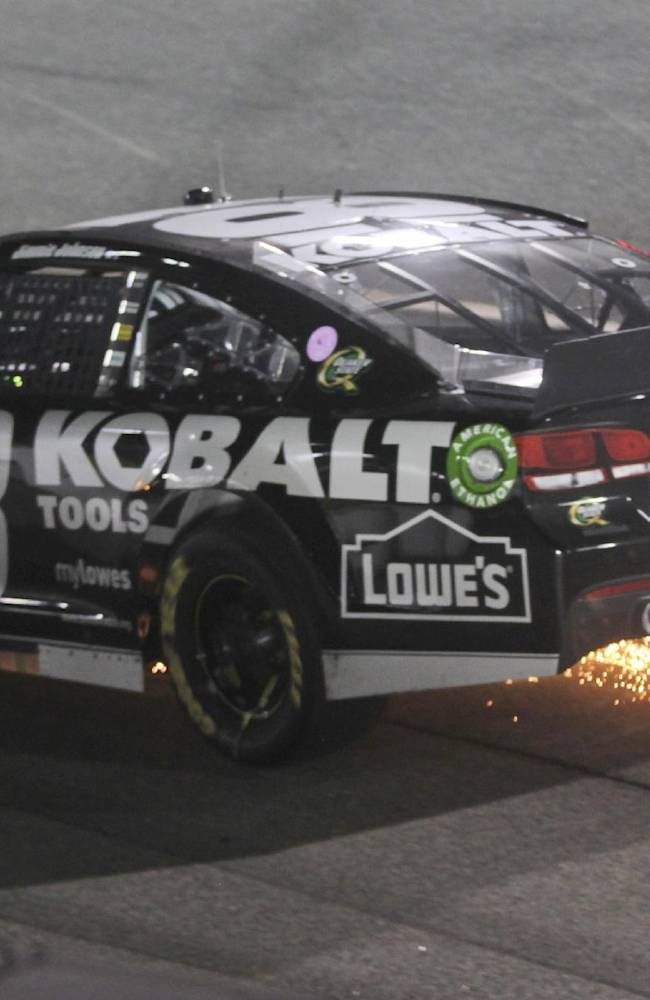 Johnson denies any wrongdoing in Chase controversy