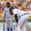 Cabrera leaves Tigers' game with strained left calf (Yahoo Sports)