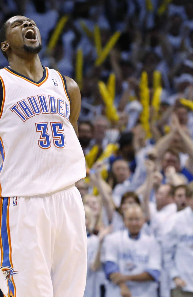 Durant looking for answers against Tony Allen