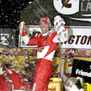 Harvick survives shootout for 1st Darlington win The Associated Press