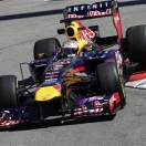 Red Bull driver Sebastian Vettel of Germany steers his car during the first free practice at the Monaco racetrack, in Monaco, Thursday, May 23, 2013. The Formula one race will be held on Sunday. (AP Photo/Luca Bruno)