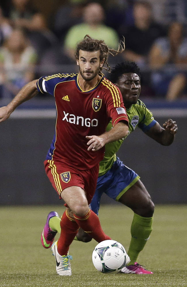 Sounders takes down Real Salt Lake in 2-0 win