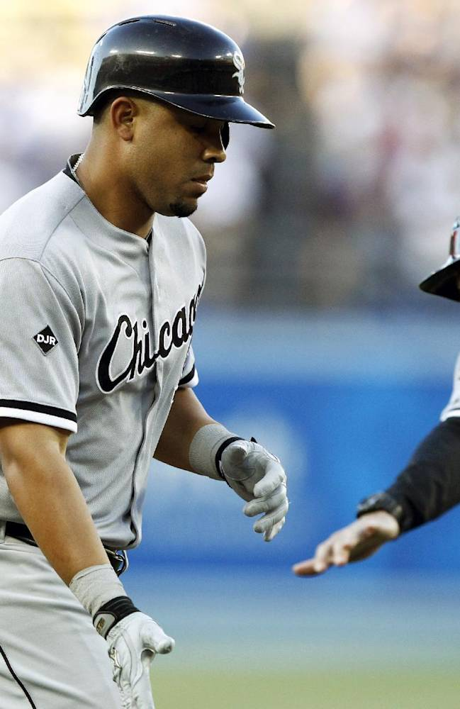 Abreu homers again in Chisox win over Dodgers