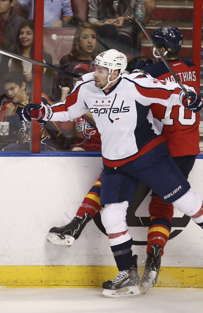Panthers get 10-round shootout win over Capitals