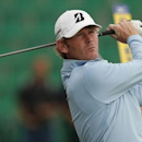 Brandt Snedeker of the U.S. watches his tee shot on the fourth hole during a practice round ahead of the British Open Championship at the Royal Liverpool Golf Club in Hoylake, northern England July 15, 2014. REUTERS/Phil Noble (BRITAIN  - Tags: SPORT GOLF)   - RTR3YPE4