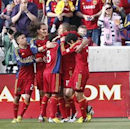 Real Salt Lake 4-2 Portland Timbers: Real shows top quality to see off ten-man Portland
