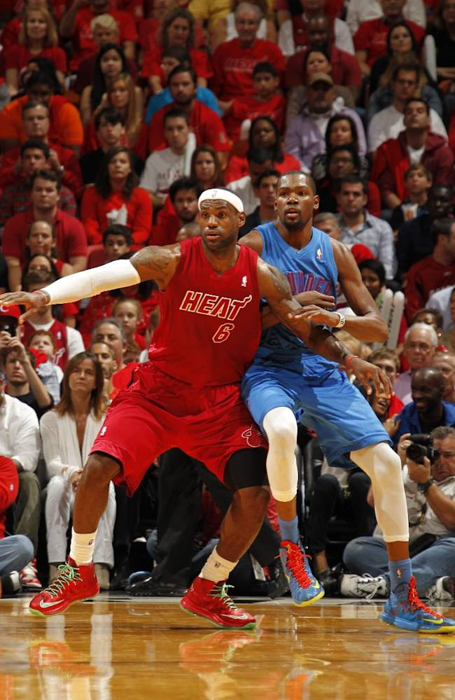 King vs. KD: James, Durant set to square off