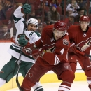 Parise helps Wild beat Coyotes 4-3 in shootout The Associated Press