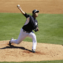 New York Yankees pitcher Hiroki Kuroda throws a pitch during the third inning of an exhibition baseball game against the Philadelphia Phillies Saturday, March 1, 2014, in Tampa, Fla The Associated Press
