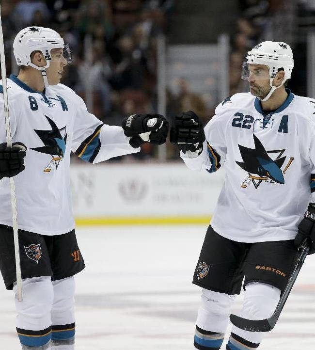 Boyle scores 2 PP goals as Sharks beat Ducks, 6-5
