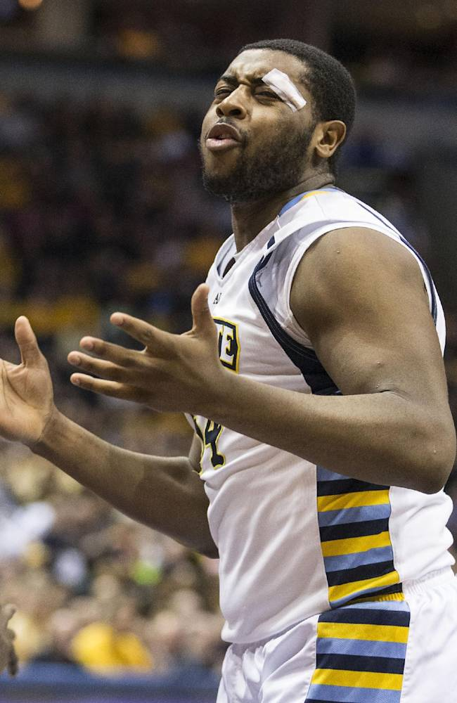 Marquette's NCAA streak on line at league tourney