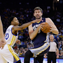 Gasol out indefinitely with left knee sprain The Associated Press